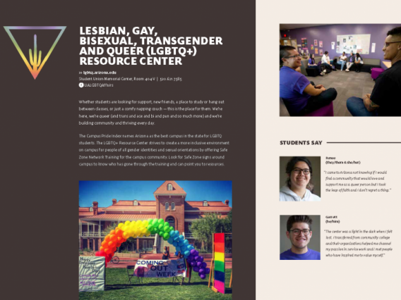 Preview of LGBTQ multicultural booklet