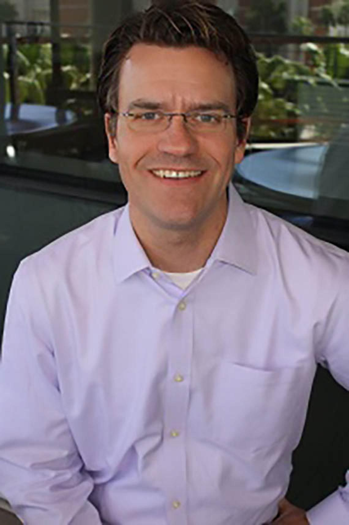 Dr. Stephen Russell smiling for photo